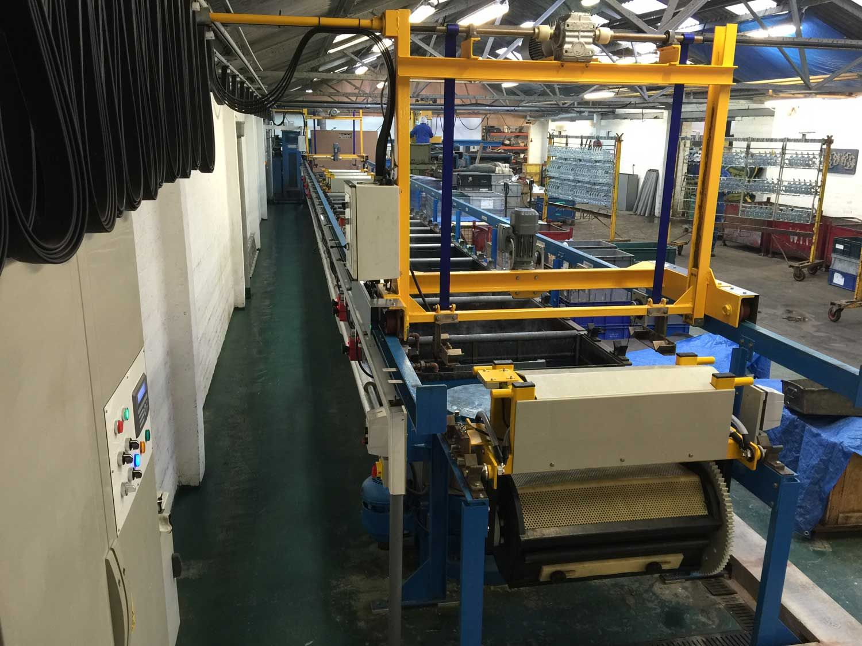 MPF Plating Ltd | Take a Look at Our Barrel Plant | Birmingham